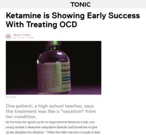 Ketamine treatment for OCD