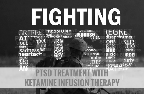 PTSD Treatment With Ketamine Infusion Therapy after war