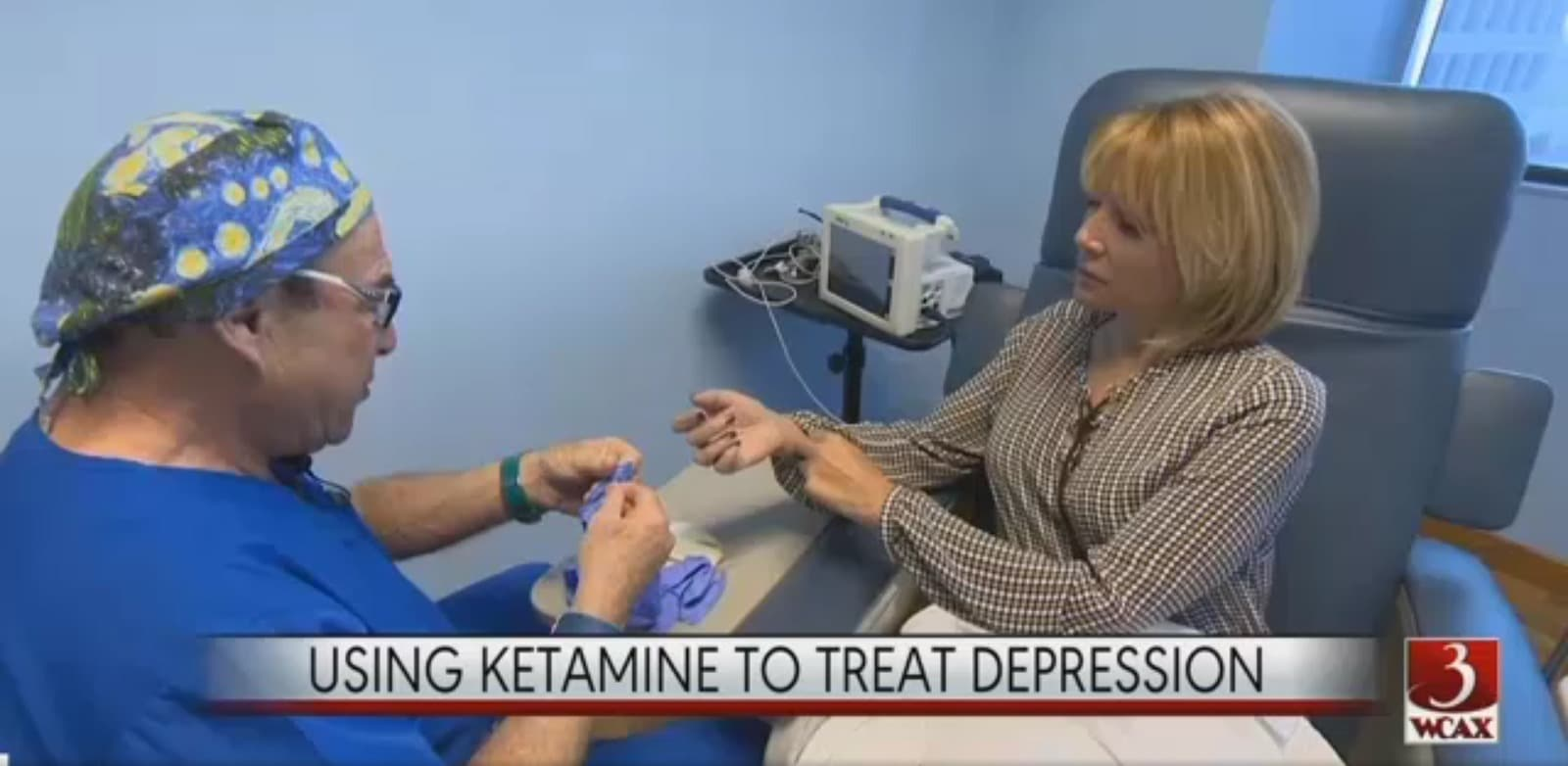 CBS News Reports: Is ketamine the cure for depression?